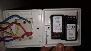Help replacing double switch for double dimmer switch | DIYnot Forums