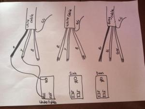 Help needed desperately with 3 gang light switch wiring