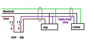 Switch live PIR | DIYnot Forums