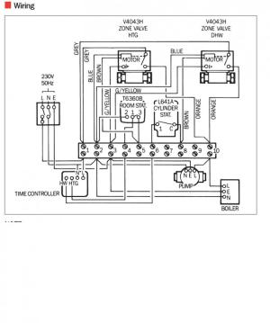 Wiring Diagram for Central Heating System | DIYnot Forums