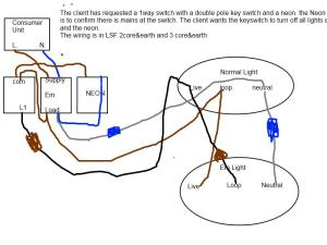 emergency lighting diagram | DIYnot Forums