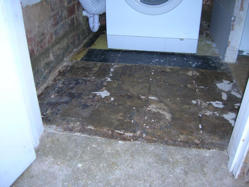 removal of floor tile adhesive diynot