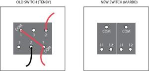Double light switch wiring diagram | DIYnot Forums