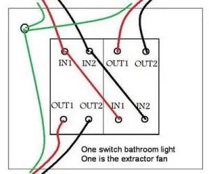 Bathroom Fan Isolator Switch Wiring Diagram  Somurich