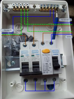 Replacing Outhouse RCD UNit  Wiring Help | DIYnot Forums