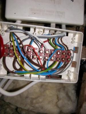Installing Honeywell DT92E into Danfoss WB12 wiring box