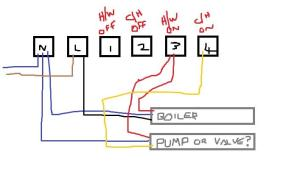 Wiring confusing of RWB2 timer | DIYnot Forums
