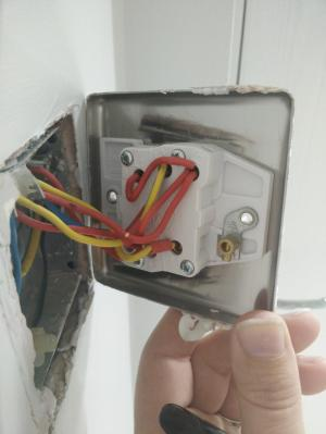 Changing a 2 gang light switch over | DIYnot Forums