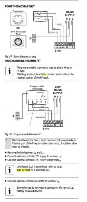Worcester Bosch 24i Thermostat wiring diagram | DIYnot Forums