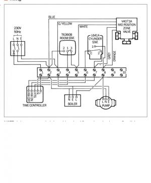 Central heating wiring diagram | DIYnot Forums