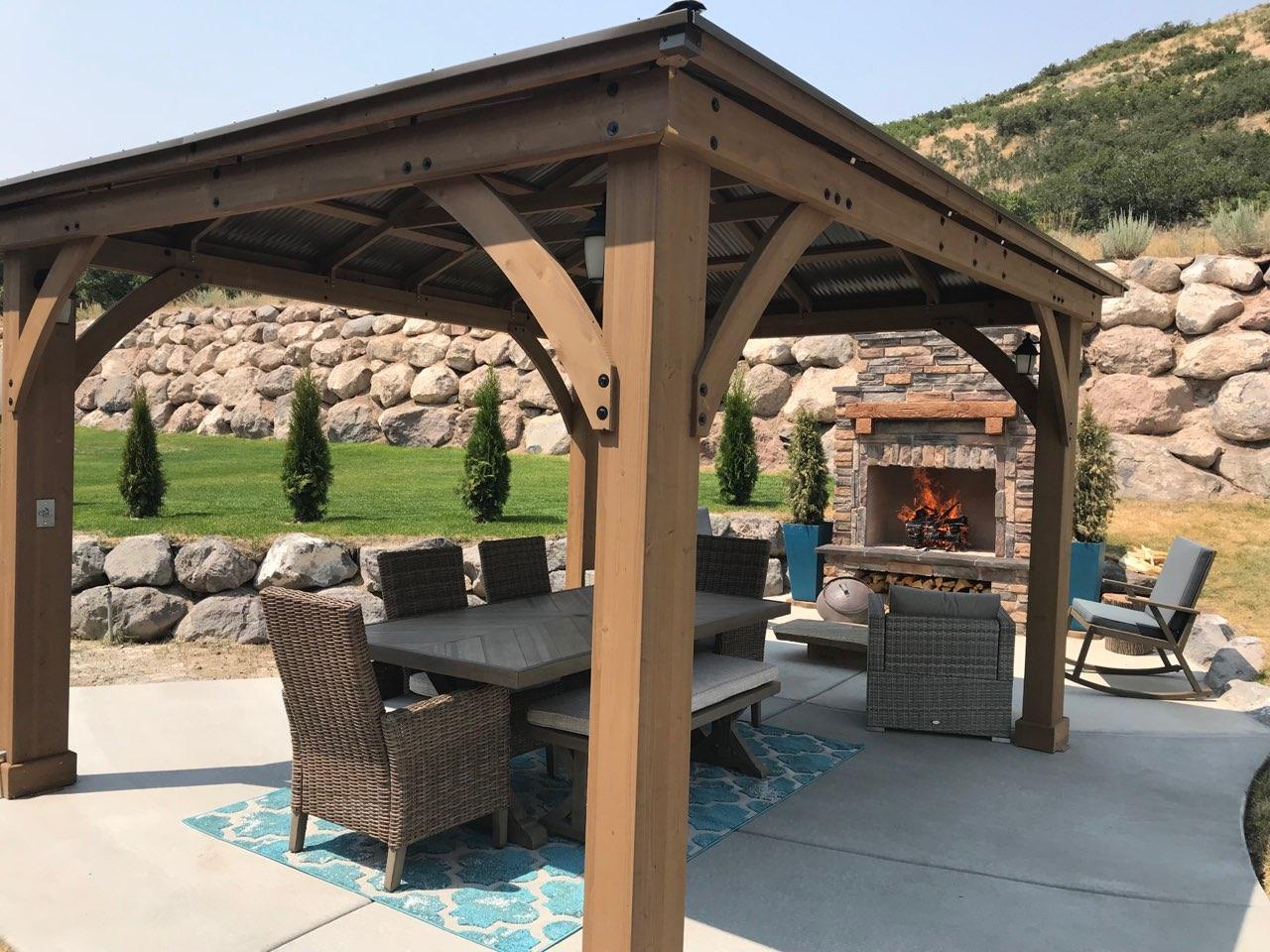 DIY Fireplace Reviews - FL and UT   Your DIY Outdoor ... on Diy Outside Fireplace id=61571
