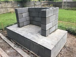 Your DIY Outdoor Fireplace Headquarters on Building Outdoor Fireplace With Cinder Block id=47782
