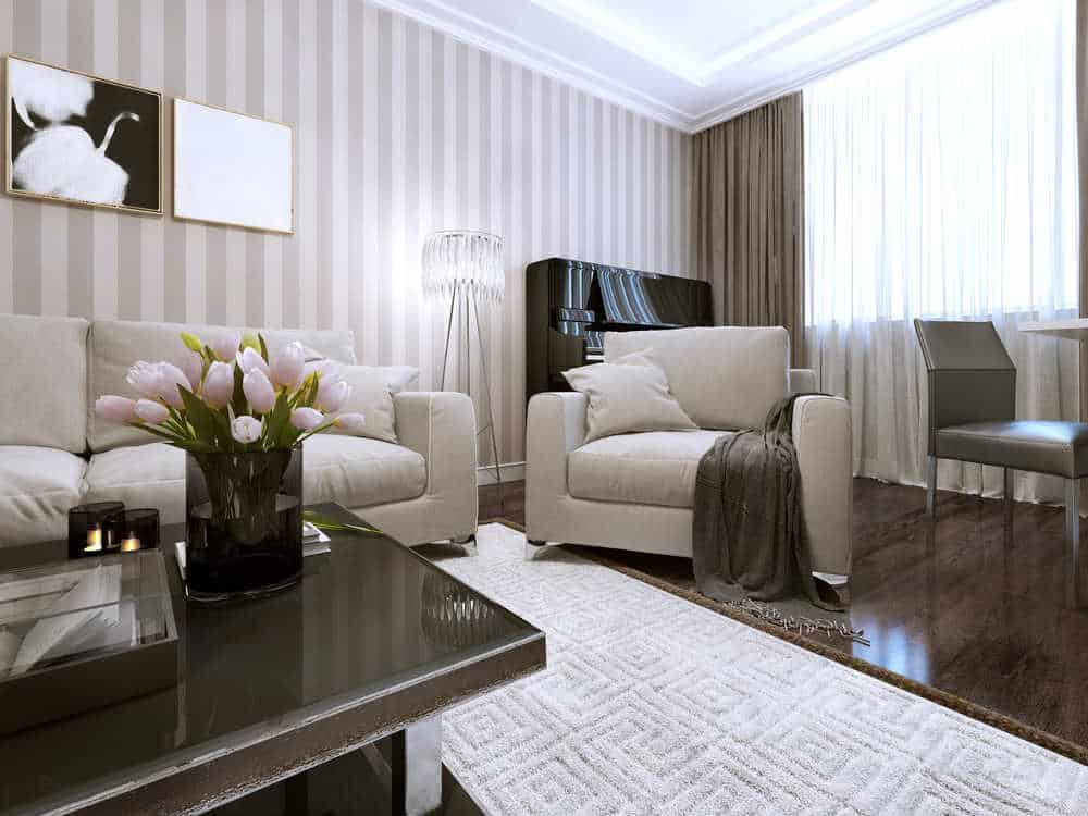 10 Painting Ideas To Give Your Living Room New Life - DIY ... on Room Painting id=76309