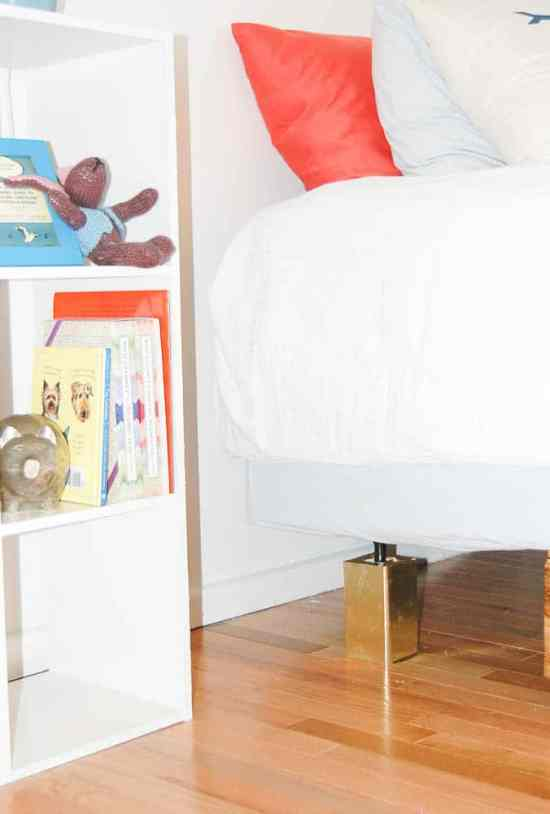 Easy DIY Bed Risers