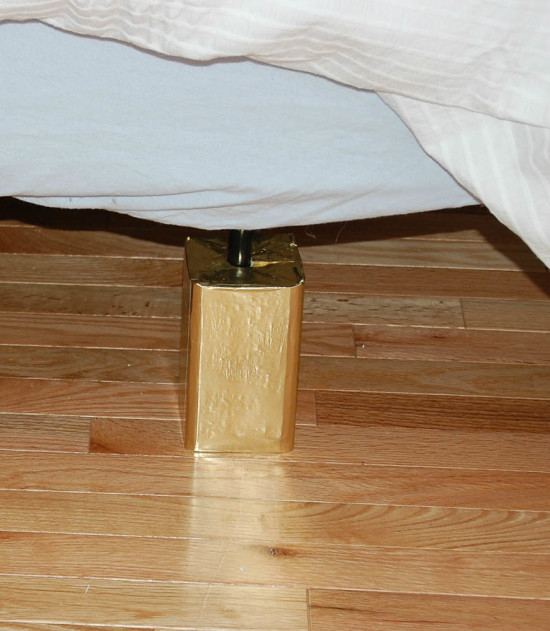 Make your own Bed Risers