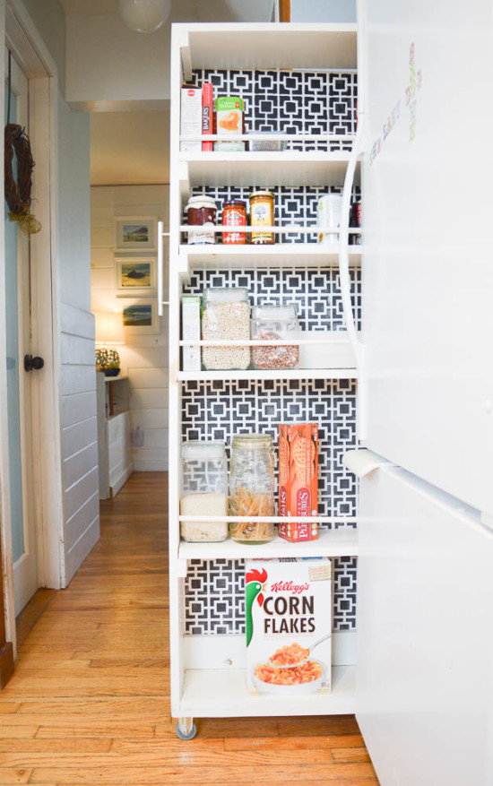 Make your own Pull-out Pantry