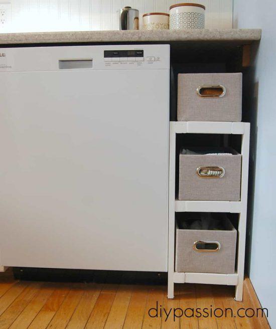 Kitchen Basket Shelf 2