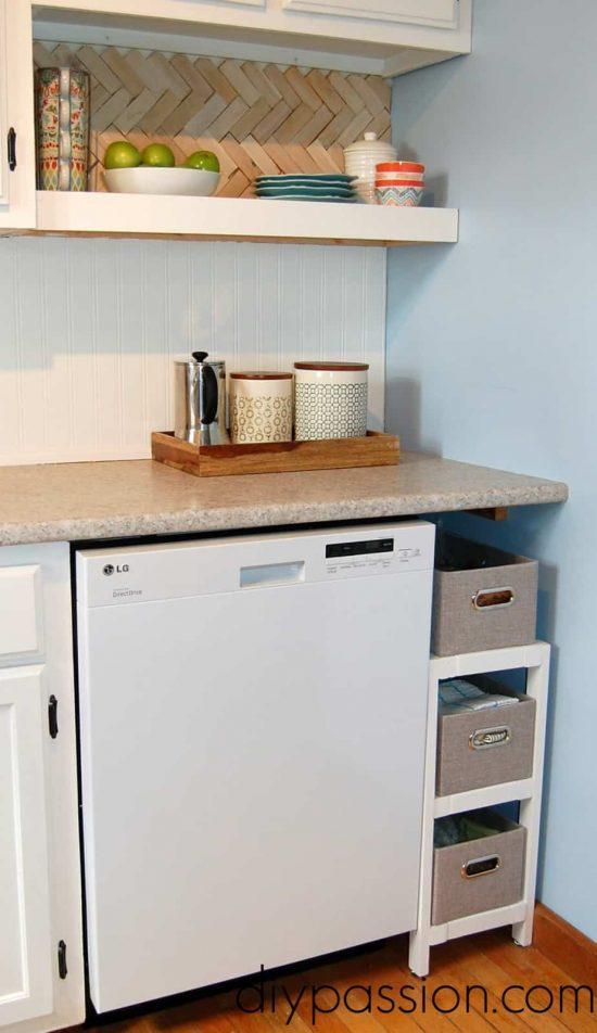 Kitchen Basket Shelf 3