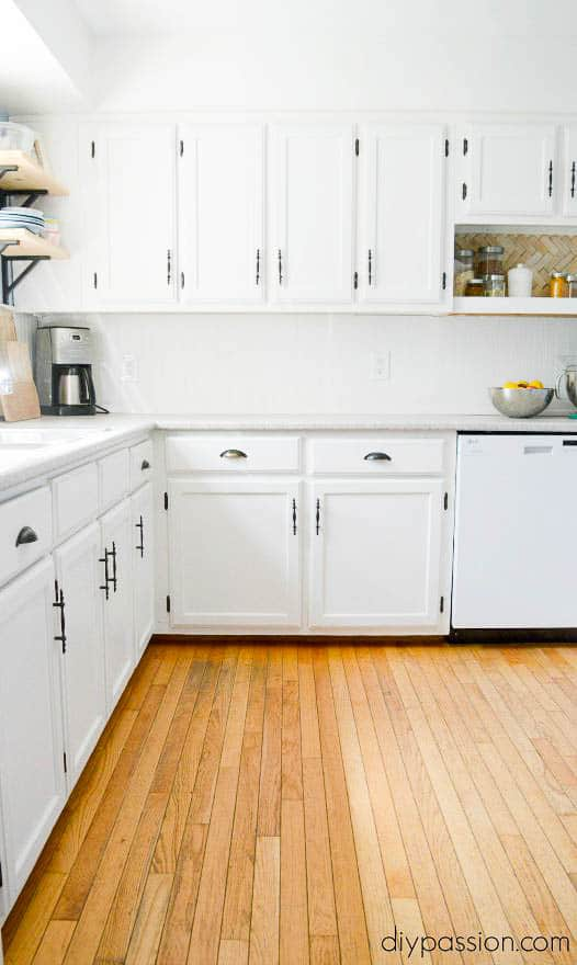 A DIY Kitchen Makeover for less than $3000
