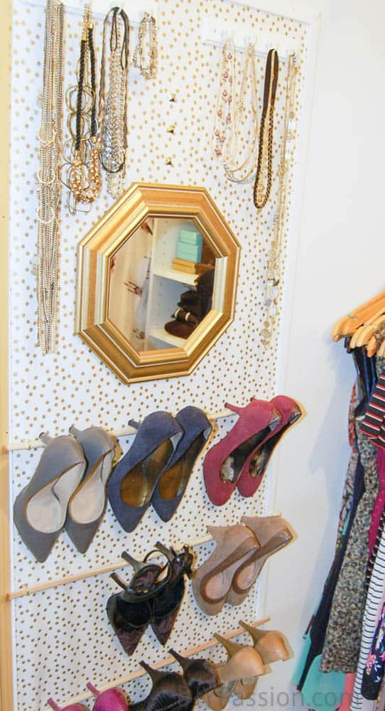 How to Hang your Shoes on the Wall