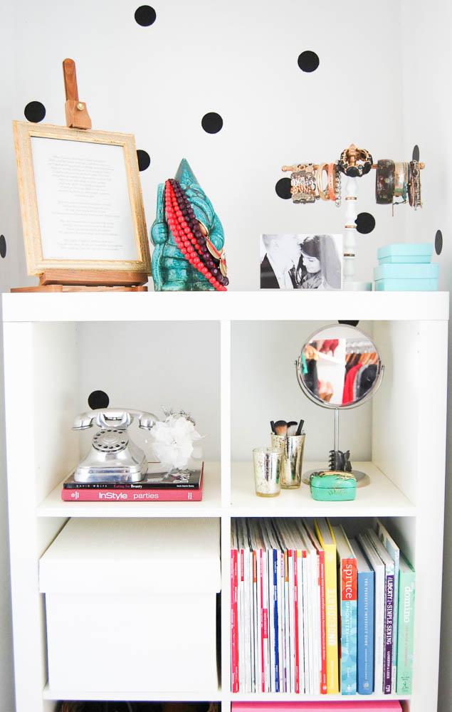 DIY Kate Spade Inspired Closet