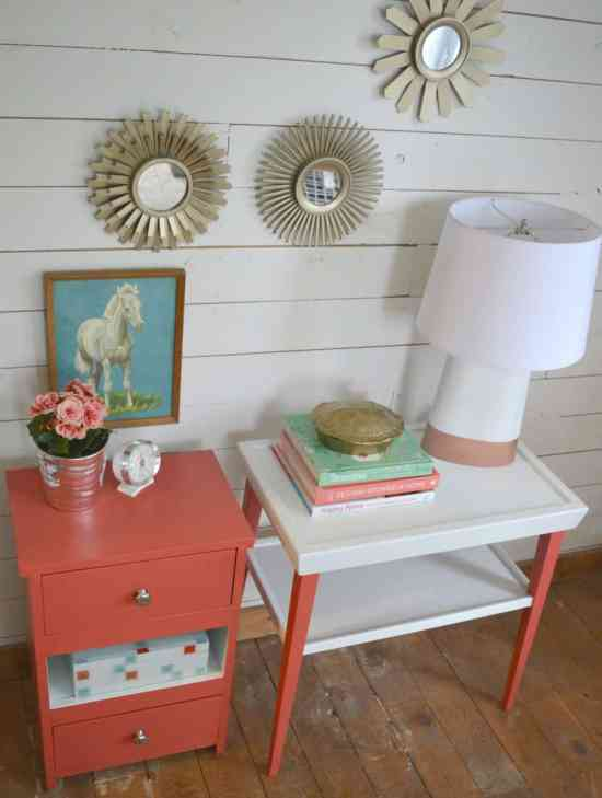 How to Paint End Tables 7