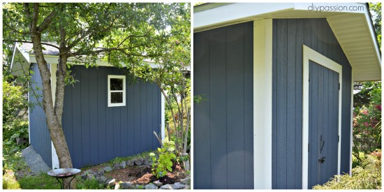 how to paint a shed 12