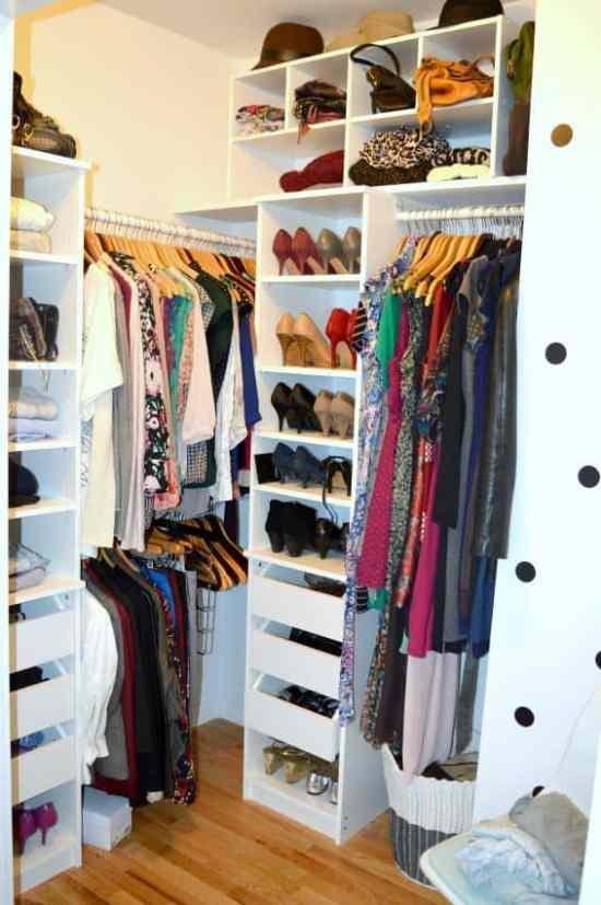 KonMari Closet Complete