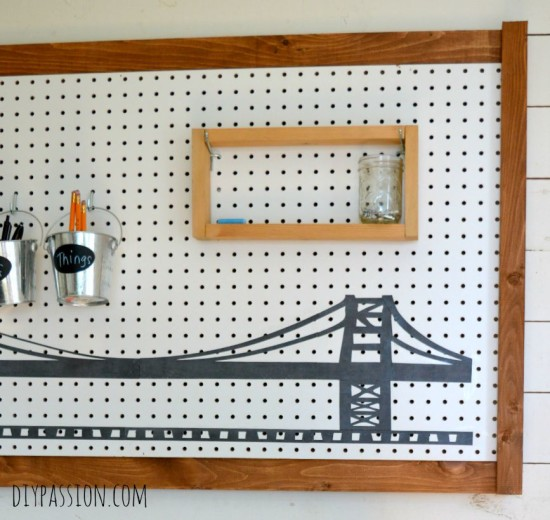 Peg Board Bridge Close