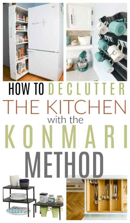 konmari method kitchen