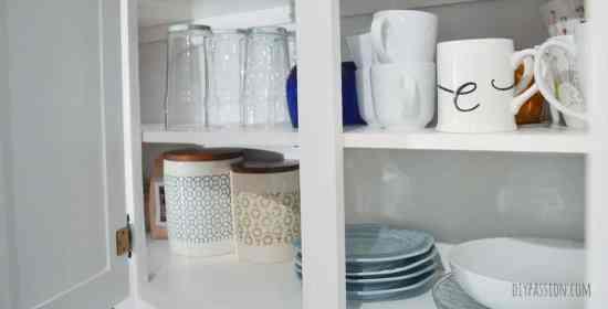 KonMari Organized Cabinets