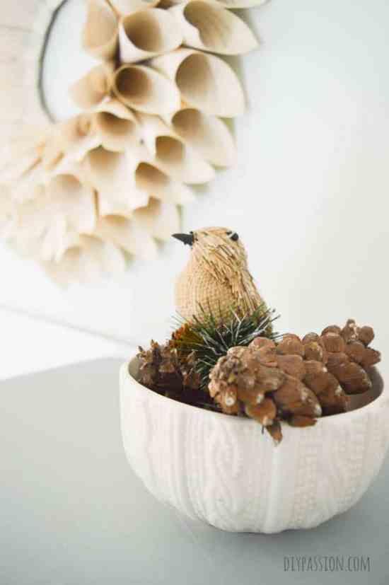 Handmade Christmas with Natural Decor