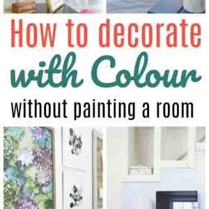 How to Decorate with COLOUR