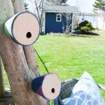 Easy DIY Birdhouses from Terracotta Pots