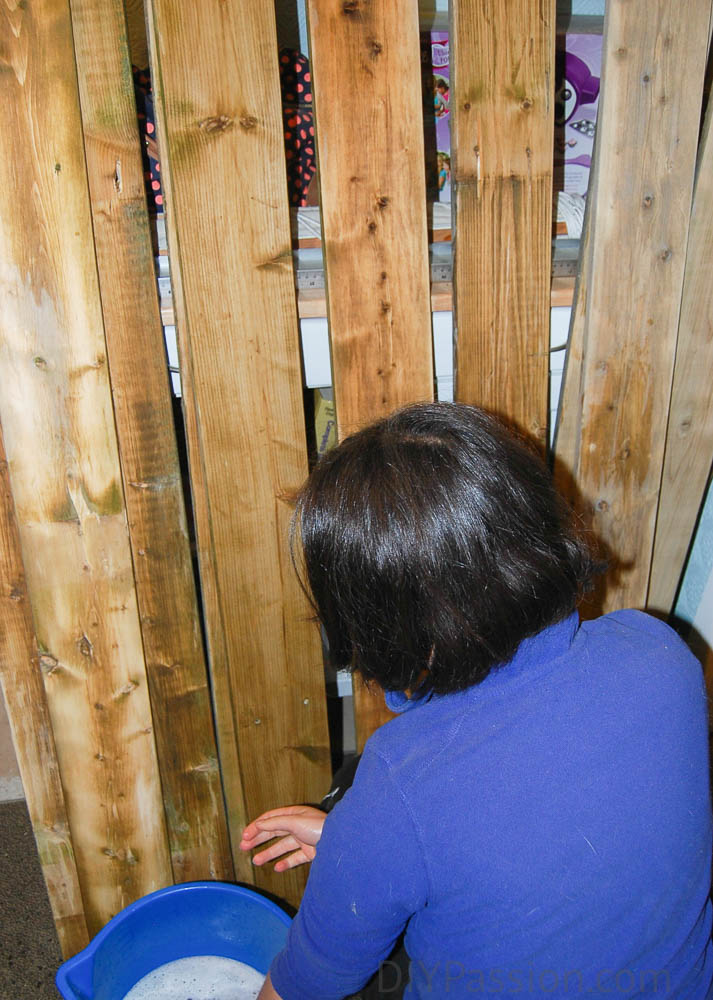 Wash fence boards thoroughly before using for planking