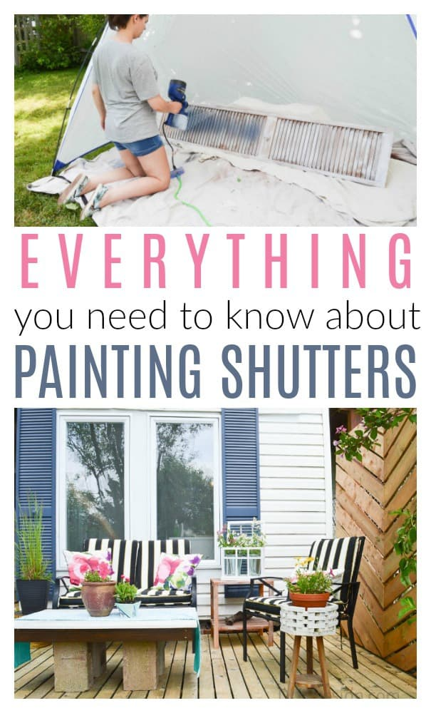 Everything You Need To Know About Painting Shutters Diy