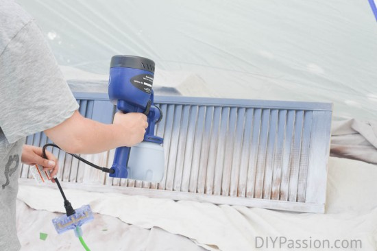 How to use a paint gun