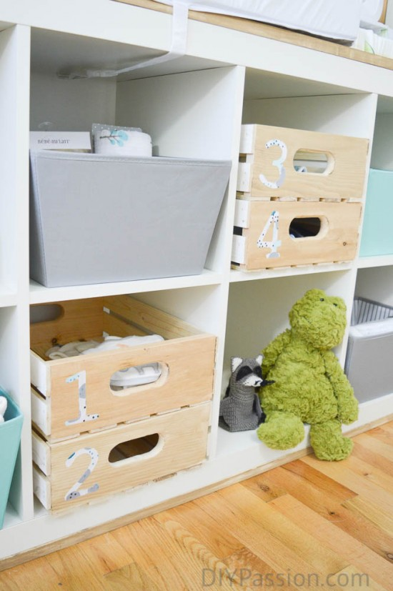 Create Custom Storage Bins with Fabric