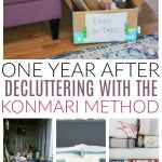 KonMari Revisited: One Year after our Journey to Sparking Joy