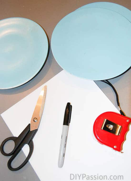 How to make Holiday Plate Art