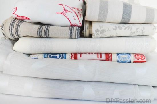Organize your table linen by season