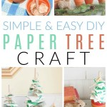 How to Make a DIY Paper Christmas Tree Craft