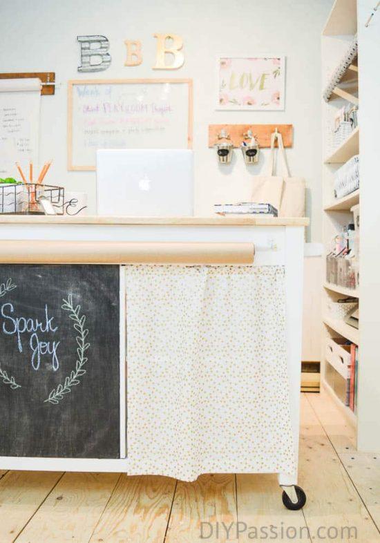 diy-craft-cart-in-a-diy-craft-room