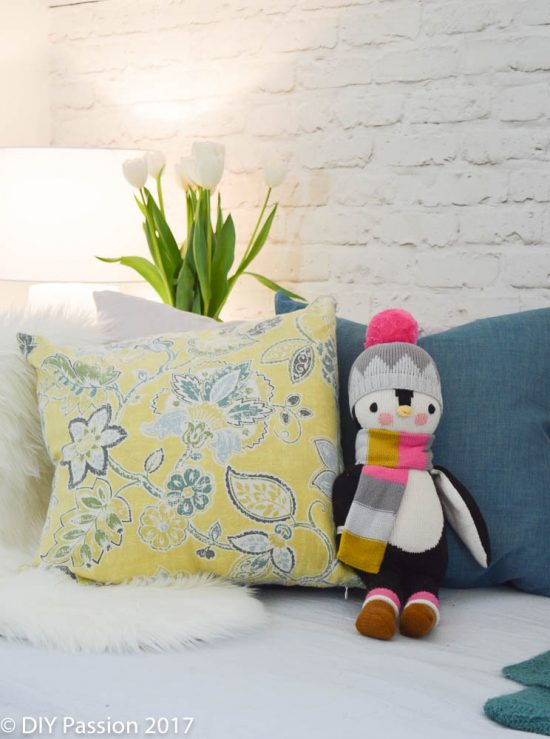 Add a little whimsy to the daybed