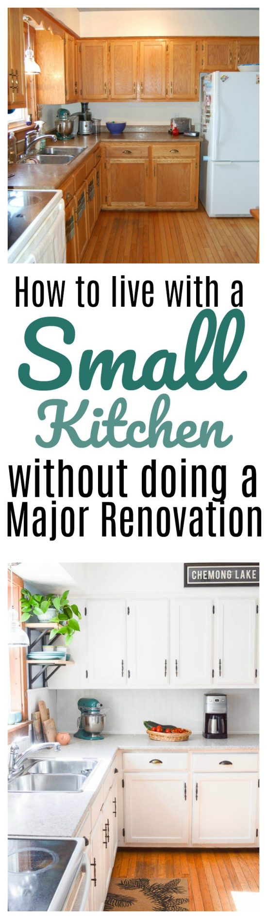 How to Live with a Small Kitchen Without Doing a Major Renovation ...