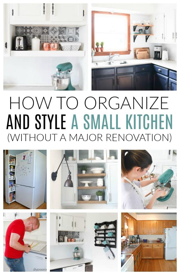 how to organize a small kitchen without pantry how to live with a small kitchen without doing a major 9803