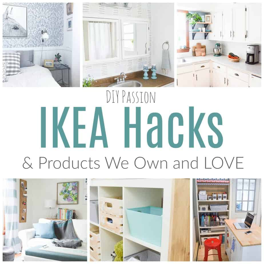 my favourite ikea hacks and what we own & love - diy passion