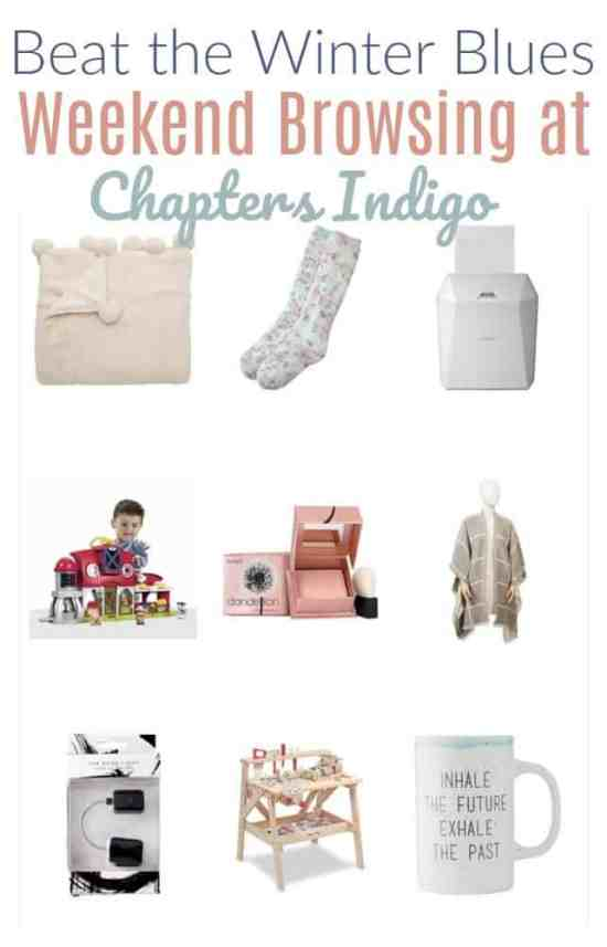 Beat the Winter Blues with these cozy and relaxing finds from Indigo!