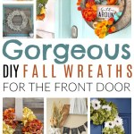 Gorgeous DIY Fall Wreaths for the Front Door