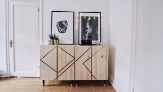 Modern hygge Ikea Ivar Bar Cabinet